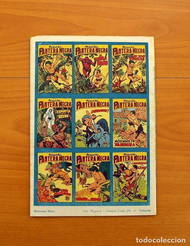 Tebeos: Pantera Negra, Pequeño Pantera Negra, y Almanaques - Ver fotos interiores - Editorial Maga 1956 - Foto 40 - 102711199