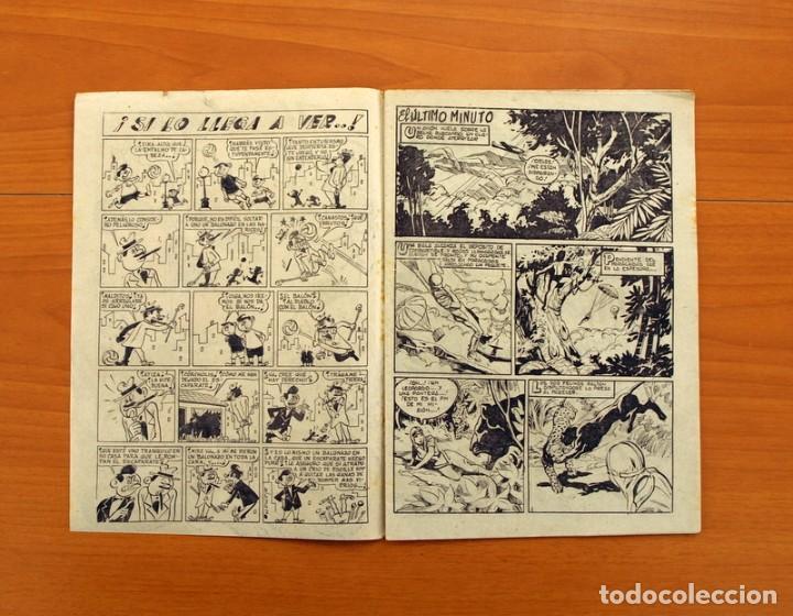 Tebeos: Pantera Negra, Pequeño Pantera Negra, y Almanaques - Ver fotos interiores - Editorial Maga 1956 - Foto 42 - 102711199