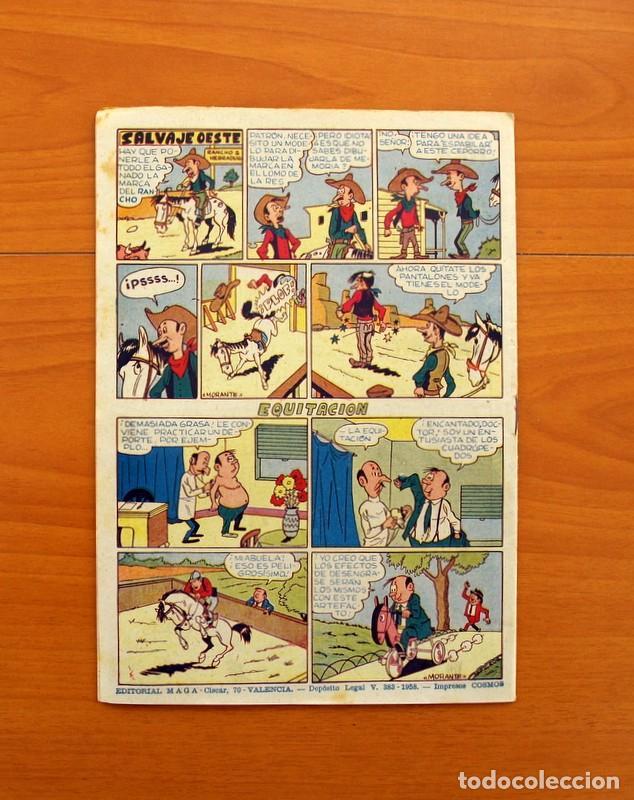 Tebeos: Pantera Negra, Pequeño Pantera Negra, y Almanaques - Ver fotos interiores - Editorial Maga 1956 - Foto 45 - 102711199
