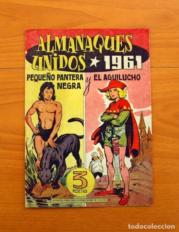 Tebeos: Pantera Negra, Pequeño Pantera Negra, y Almanaques - Ver fotos interiores - Editorial Maga 1956 - Foto 46 - 102711199