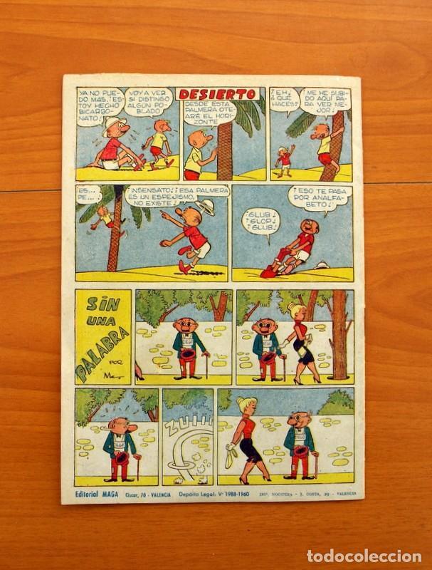 Tebeos: Pantera Negra, Pequeño Pantera Negra, y Almanaques - Ver fotos interiores - Editorial Maga 1956 - Foto 51 - 102711199