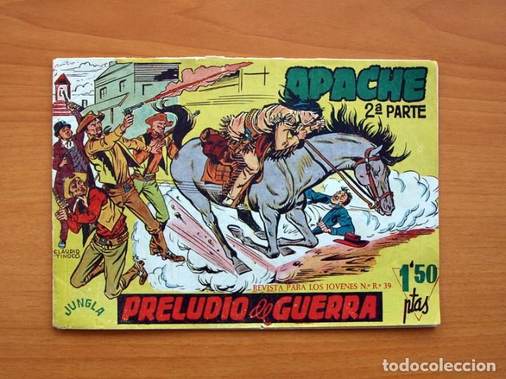 Tebeos: Apache 2ª parte - Editorial Maga 1957 - Colección COMPLETA, 76 tebeos - Foto 2 - 102775015
