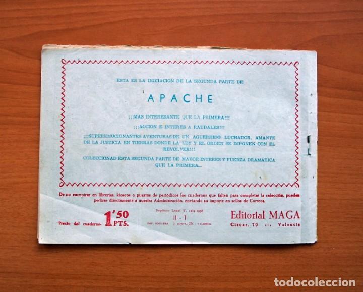Tebeos: Apache 2ª parte - Editorial Maga 1957 - Colección COMPLETA, 76 tebeos - Foto 6 - 102775015