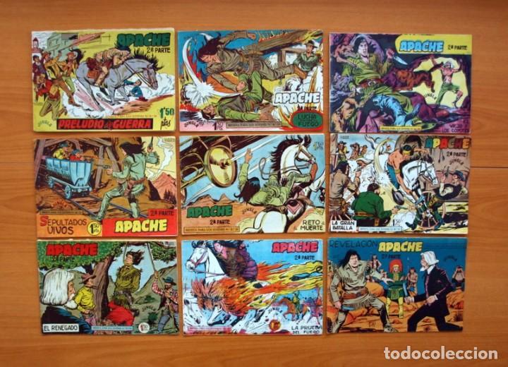 Tebeos: Apache 2ª parte - Editorial Maga 1957 - Colección COMPLETA, 76 tebeos - Foto 7 - 102775015