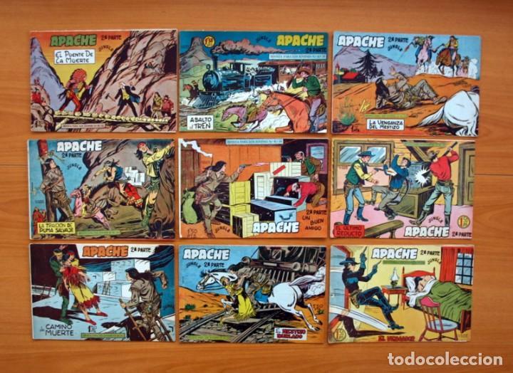 Tebeos: Apache 2ª parte - Editorial Maga 1957 - Colección COMPLETA, 76 tebeos - Foto 8 - 102775015