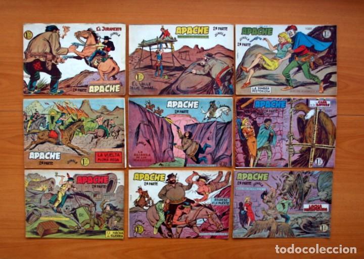 Tebeos: Apache 2ª parte - Editorial Maga 1957 - Colección COMPLETA, 76 tebeos - Foto 9 - 102775015
