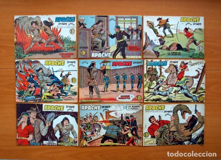 Tebeos: Apache 2ª parte - Editorial Maga 1957 - Colección COMPLETA, 76 tebeos - Foto 10 - 102775015