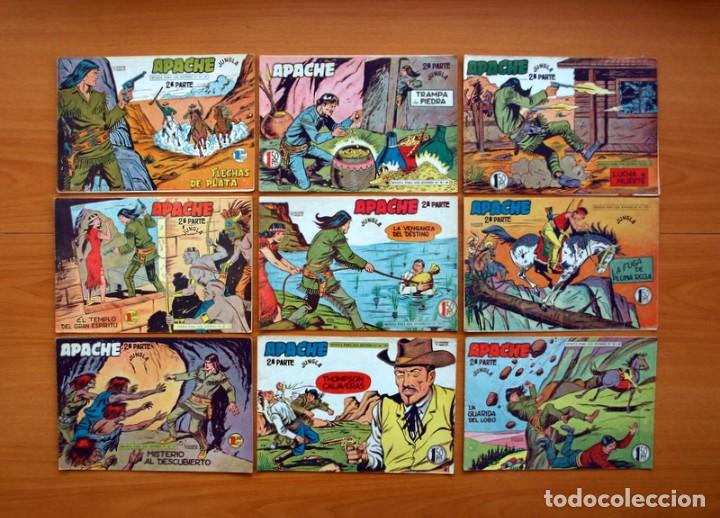 Tebeos: Apache 2ª parte - Editorial Maga 1957 - Colección COMPLETA, 76 tebeos - Foto 11 - 102775015