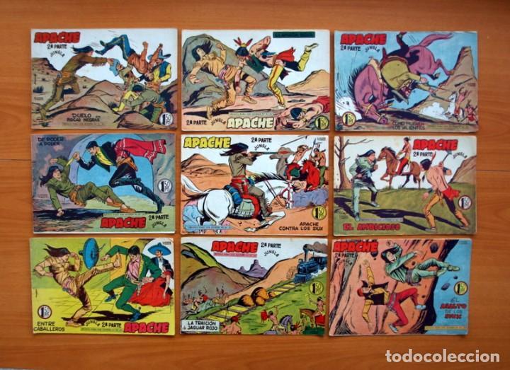 Tebeos: Apache 2ª parte - Editorial Maga 1957 - Colección COMPLETA, 76 tebeos - Foto 12 - 102775015