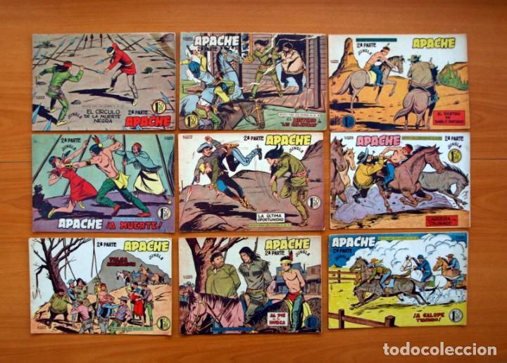 Tebeos: Apache 2ª parte - Editorial Maga 1957 - Colección COMPLETA, 76 tebeos - Foto 13 - 102775015