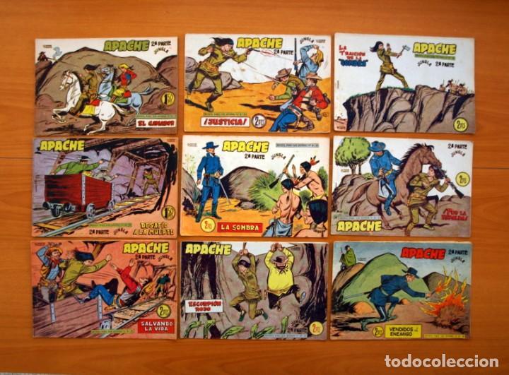 Tebeos: Apache 2ª parte - Editorial Maga 1957 - Colección COMPLETA, 76 tebeos - Foto 14 - 102775015