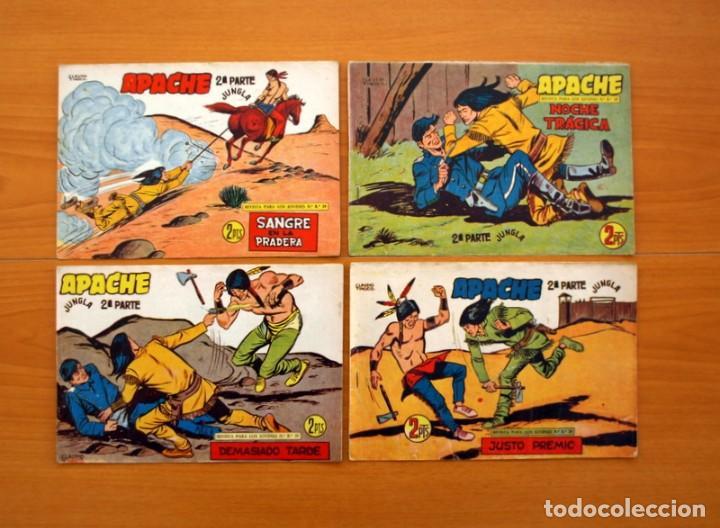Tebeos: Apache 2ª parte - Editorial Maga 1957 - Colección COMPLETA, 76 tebeos - Foto 15 - 102775015