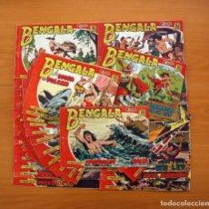 Tebeos: BENGALA 2ª PARTE - EDITORIAL MAGA 1960 - 45 TEBEOS - COLECCIÓN COMPLETA. Lote 102776543