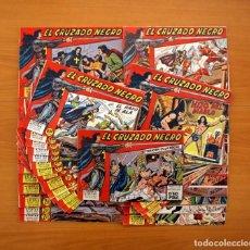 Tebeos: EL CRUZADO NEGRO - EDITORIAL MAGA 1961 - COLECCIÓN COMPLETA, 56 TEBEOS. Lote 102780039