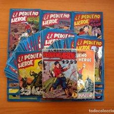 Tebeos: EL PEQUEÑO HEROE - COMPLETA - 120 EJEMPLARES MAS ALMANAQUES 1958 Y 1959 - EDITORIAL MAGA 1956. Lote 102780803