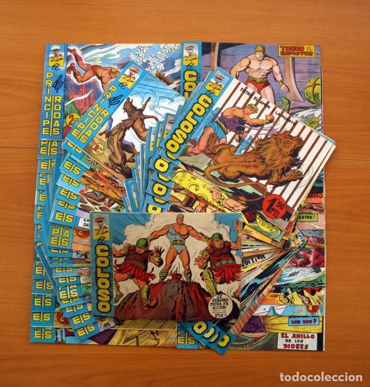 EL COLOSO - COLECCIÓN COMPLETA - 83 EJEMPLARES - EDITORIAL MAGA 1960 (Tebeos y Comics - Tebeos Colecciones y Lotes Avanzados)