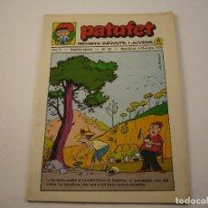 Tebeos: PATUFET - ANY 3 - SEGONA ÈPOCA ANY 1970 N 49. Lote 103034335