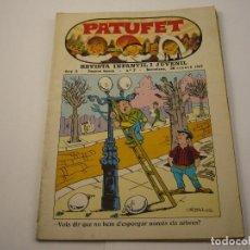 Tebeos: PATUFET - REVISTA JUVENIL I INFANTIL - ANY 2 - SEGONA ÈPOCA - Nº 7 - FEBRER 1969. Lote 103034979