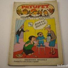 Tebeos: REVISTA INFANTIL I JUVENIL - PATUFET - ANY 2 - Nº 6 - ED. BAGUÑA HNOS. - 1968. Lote 103035131