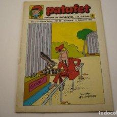 Tebeos: PATUFET. REVISTA INFANTIL I JUVENIL - ANY 2. SEGONA EPOCA. N.º 28 - 1969. Lote 103035259
