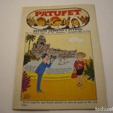 Tebeos: PATUFET. REVISTA INFANTIL I JUVENIL - ANY 2. SEGONA EPOCA. N.º 25 - 1969. Lote 103035519