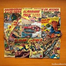 Tebeos: EL CLUB DE LOS CINCO - EDITORIAL MAGA 1957 - COLECCIÓN COMPLETA, MAS EL ALMANAQUE DE 1958. Lote 103064343
