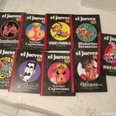 Tebeos: LOTE 9 TOMOS EL JUEVES GOLD. Lote 103134479