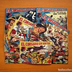 Tebeos: EL CORSARIO SIN ROSTRO - COLECCIÓN COMPLETA, 42 EJEMPLARES - EDITORIAL MAGA 1959. Lote 103260827