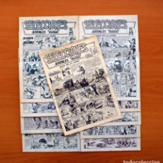 Tebeos: SELECCIONES JUVENILES MAGA - COLECCIÓN COMPLETA, 10 CUADERNOS - EDITORIAL MAGA 1961 . Lote 103302071