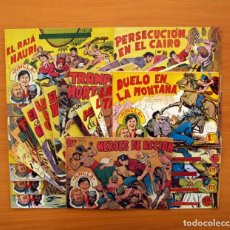 Tebeos: JUNGLA - COLECCIÓN COMPLETA, 36 TEBEOS - EDITORIAL MAGA 1958 . Lote 103309647