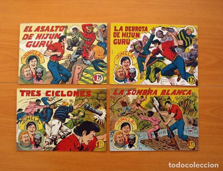 Tebeos: Jungla - Colección Completa, 36 tebeos - Editorial Maga 1958 - Foto 7 - 103309647
