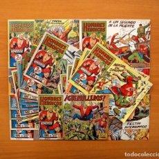 Tebeos: HOMBRES HEROICOS - COLECCIÓN COMPLETA, 30 CUADERNOS - EDITORIAL MAGA 1961 . Lote 103310059