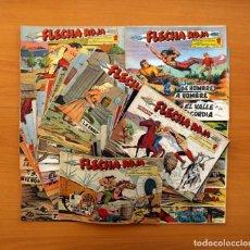 Tebeos: FLECHA ROJA - COLECCIÓN COMPLETA, 79 TEBEOS - EDITORIAL MAGA 1962 . Lote 103311399
