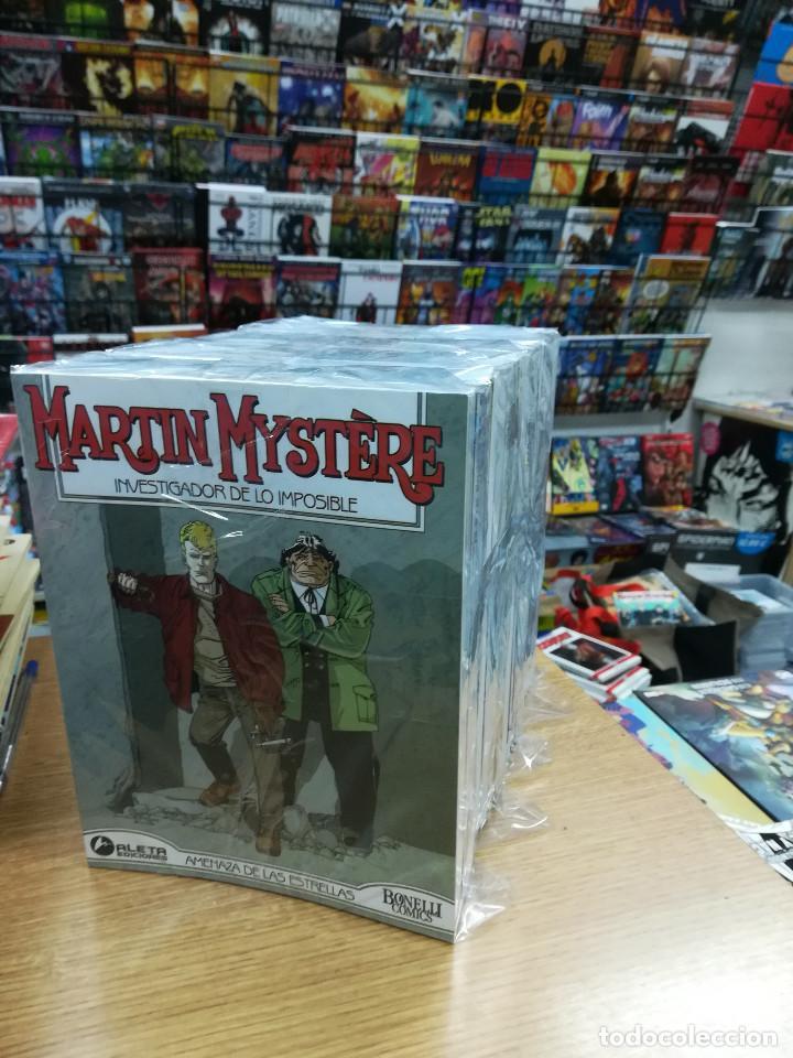 MARTIN MYSTERE VOL 1 COLECCION COMPLETA (37 TOMOS) (Tebeos y Comics - Tebeos Colecciones y Lotes Avanzados)