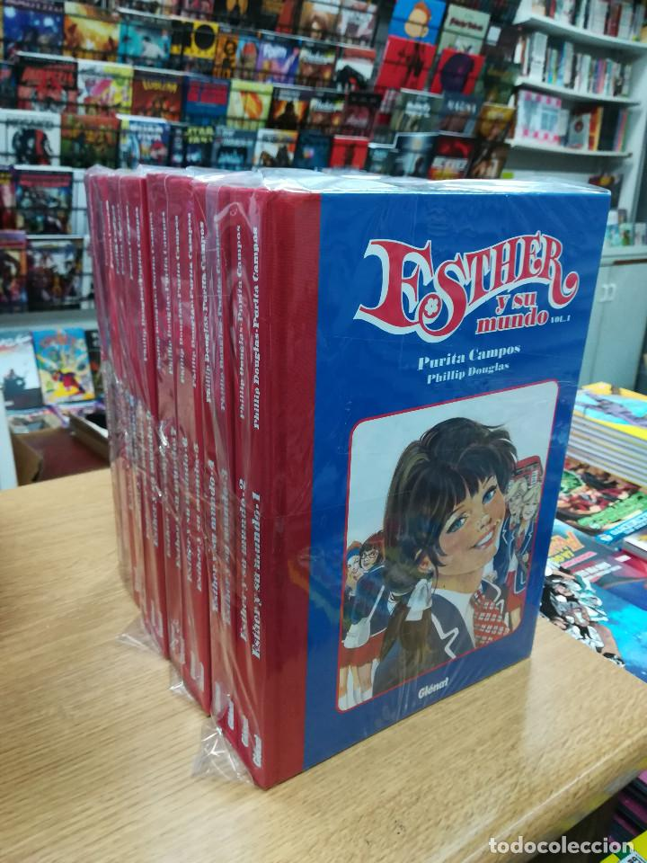 ESTHER Y SU MUNDO COLECCION COMPLETA (17 TOMOS) (Tebeos y Comics - Tebeos Colecciones y Lotes Avanzados)