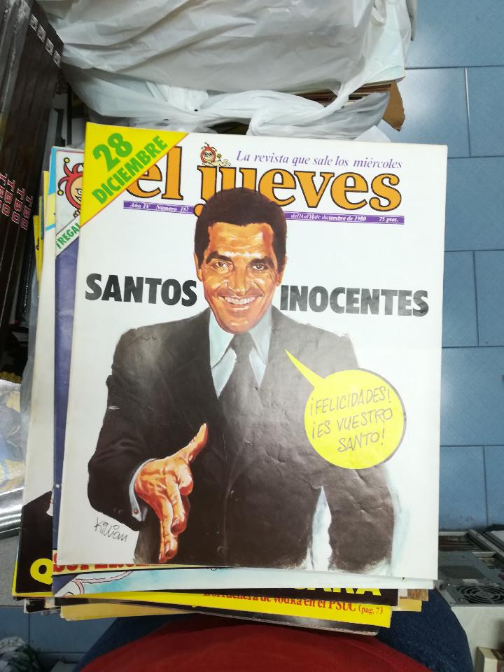 Tebeos: EL JUEVES - CASI 40 AÑOS DE LA REVISTA - 2022 NUMEROS (DEL 1 A 2059 - FALTAN 37 INTERCALADOS) - Foto 3 - 103441187