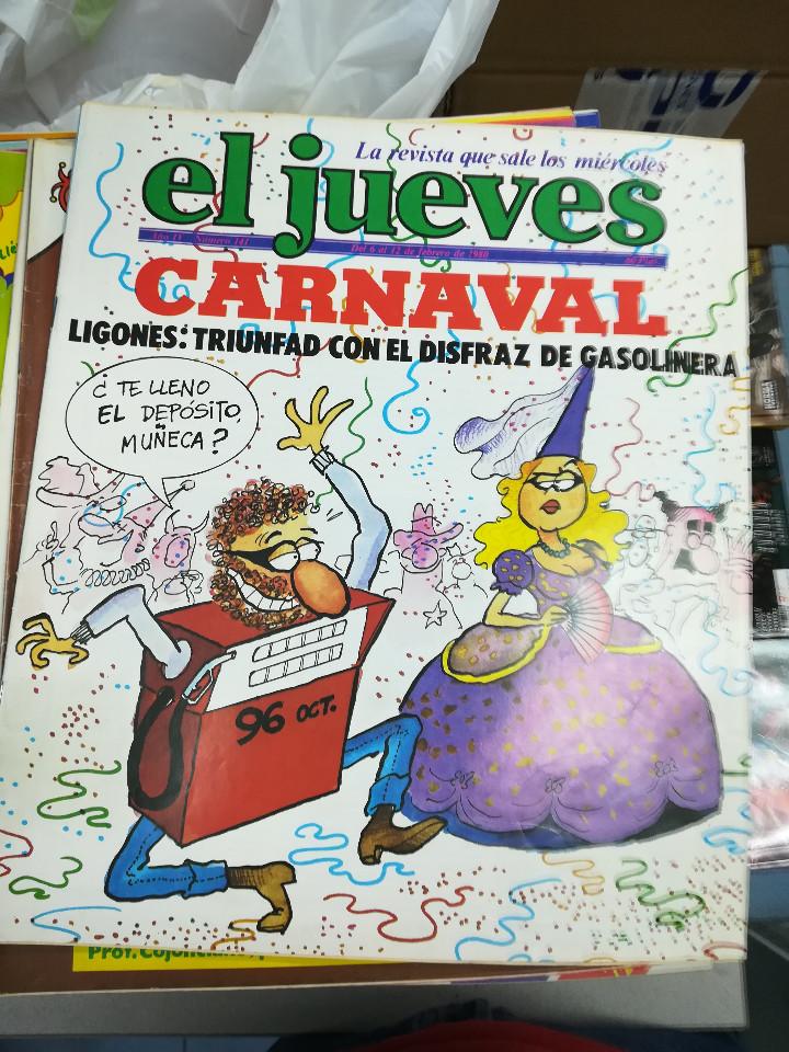 Tebeos: EL JUEVES - CASI 40 AÑOS DE LA REVISTA - 2022 NUMEROS (DEL 1 A 2059 - FALTAN 37 INTERCALADOS) - Foto 4 - 103441187