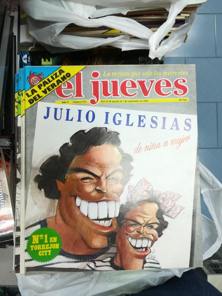 Tebeos: EL JUEVES - CASI 40 AÑOS DE LA REVISTA - 2022 NUMEROS (DEL 1 A 2059 - FALTAN 37 INTERCALADOS) - Foto 13 - 103441187