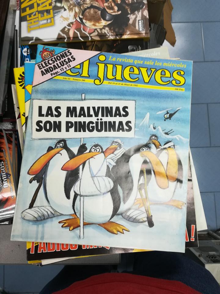 Tebeos: EL JUEVES - CASI 40 AÑOS DE LA REVISTA - 2022 NUMEROS (DEL 1 A 2059 - FALTAN 37 INTERCALADOS) - Foto 14 - 103441187
