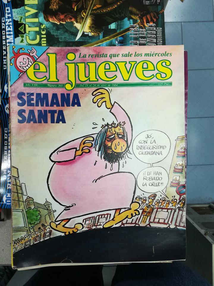 Tebeos: EL JUEVES - CASI 40 AÑOS DE LA REVISTA - 2022 NUMEROS (DEL 1 A 2059 - FALTAN 37 INTERCALADOS) - Foto 15 - 103441187