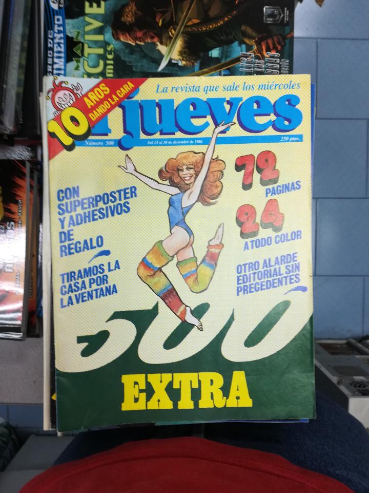 Tebeos: EL JUEVES - CASI 40 AÑOS DE LA REVISTA - 2022 NUMEROS (DEL 1 A 2059 - FALTAN 37 INTERCALADOS) - Foto 17 - 103441187
