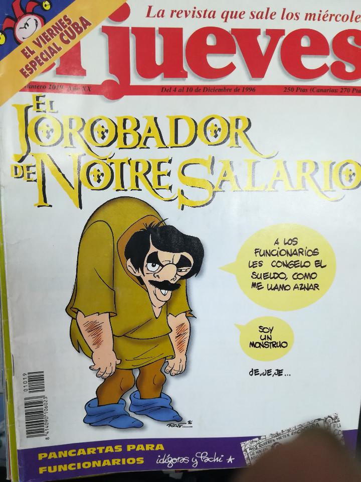 Tebeos: EL JUEVES - CASI 40 AÑOS DE LA REVISTA - 2022 NUMEROS (DEL 1 A 2059 - FALTAN 37 INTERCALADOS) - Foto 55 - 103441187