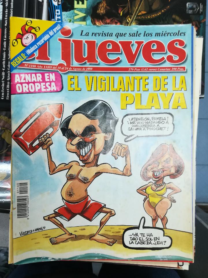 Tebeos: EL JUEVES - CASI 40 AÑOS DE LA REVISTA - 2022 NUMEROS (DEL 1 A 2059 - FALTAN 37 INTERCALADOS) - Foto 57 - 103441187