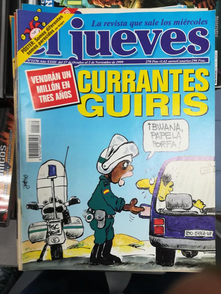 Tebeos: EL JUEVES - CASI 40 AÑOS DE LA REVISTA - 2022 NUMEROS (DEL 1 A 2059 - FALTAN 37 INTERCALADOS) - Foto 58 - 103441187