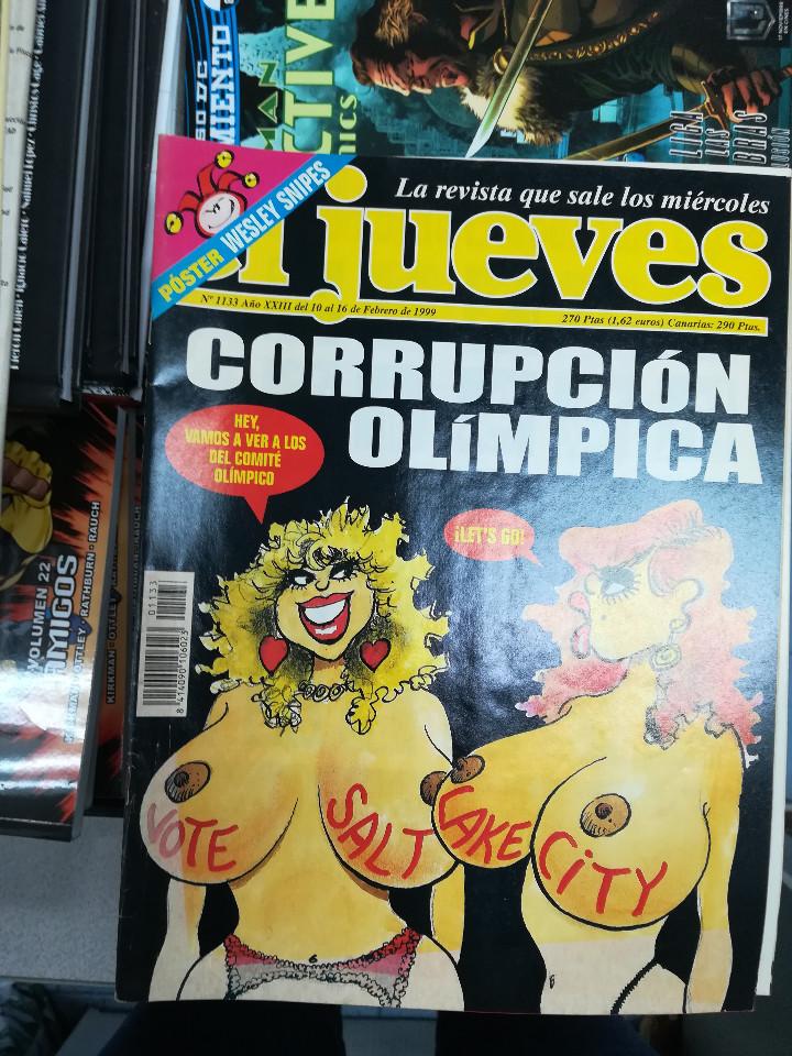 Tebeos: EL JUEVES - CASI 40 AÑOS DE LA REVISTA - 2022 NUMEROS (DEL 1 A 2059 - FALTAN 37 INTERCALADOS) - Foto 59 - 103441187