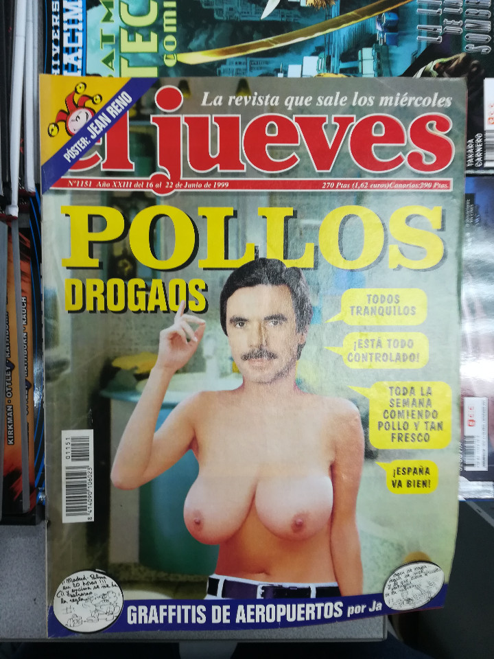 Tebeos: EL JUEVES - CASI 40 AÑOS DE LA REVISTA - 2022 NUMEROS (DEL 1 A 2059 - FALTAN 37 INTERCALADOS) - Foto 62 - 103441187