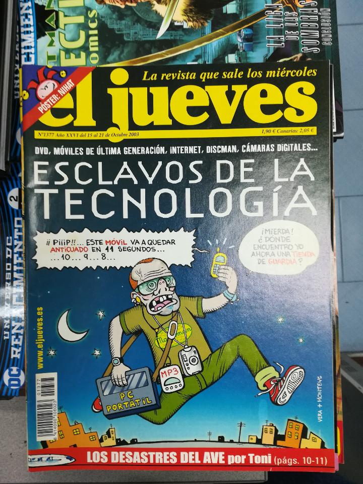 Tebeos: EL JUEVES - CASI 40 AÑOS DE LA REVISTA - 2022 NUMEROS (DEL 1 A 2059 - FALTAN 37 INTERCALADOS) - Foto 64 - 103441187