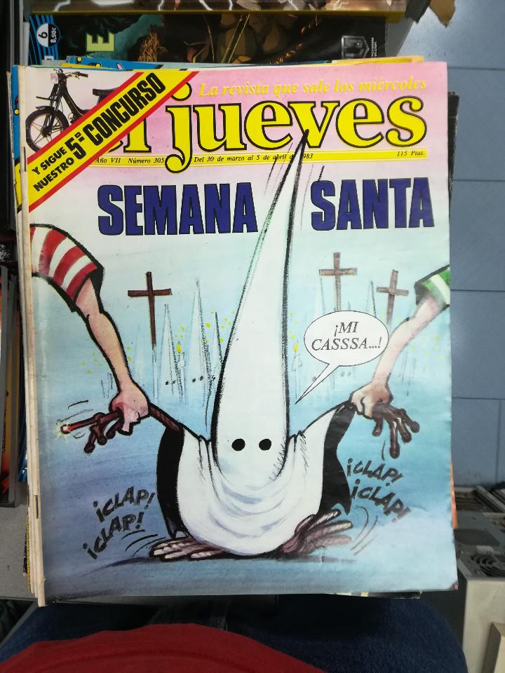 Tebeos: EL JUEVES - CASI 40 AÑOS DE LA REVISTA - 2022 NUMEROS (DEL 1 A 2059 - FALTAN 37 INTERCALADOS) - Foto 66 - 103441187