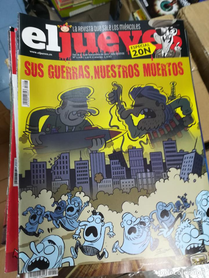 Tebeos: EL JUEVES - CASI 40 AÑOS DE LA REVISTA - 2022 NUMEROS (DEL 1 A 2059 - FALTAN 37 INTERCALADOS) - Foto 6 - 103441187