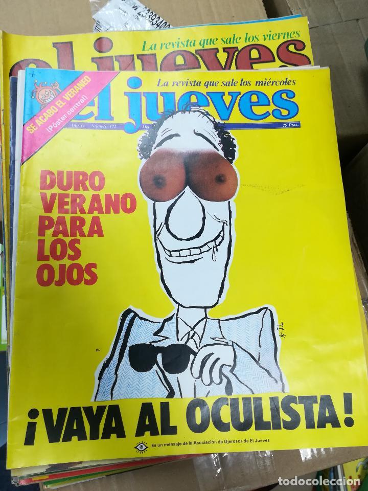 Tebeos: EL JUEVES - CASI 40 AÑOS DE LA REVISTA - 2022 NUMEROS (DEL 1 A 2059 - FALTAN 37 INTERCALADOS) - Foto 8 - 103441187